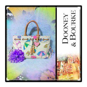 Dooney Bourke Rare and Retired Miami Beach Bag NWT